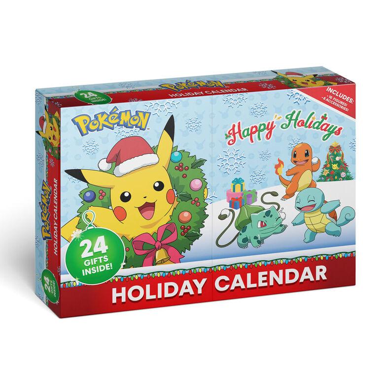 Pokémon - Battle Figure Multipack - 24-Pack Advent Calendar