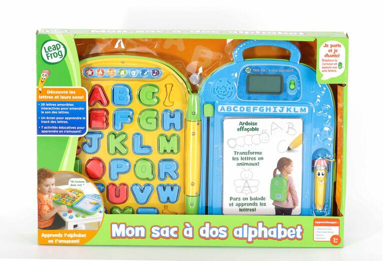 LeapFrog Mon sac à dos alphabet  - Édition francaise