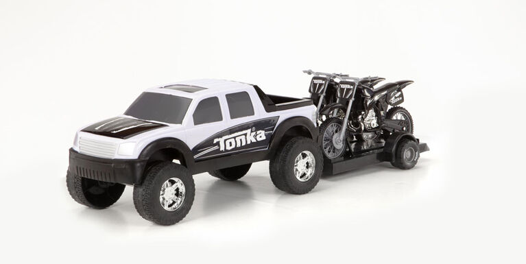 Camion hors-route 4 x 4 Tonka - Motocyclette - Styles variées.