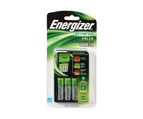 Energizer Value Charger with 4 AA