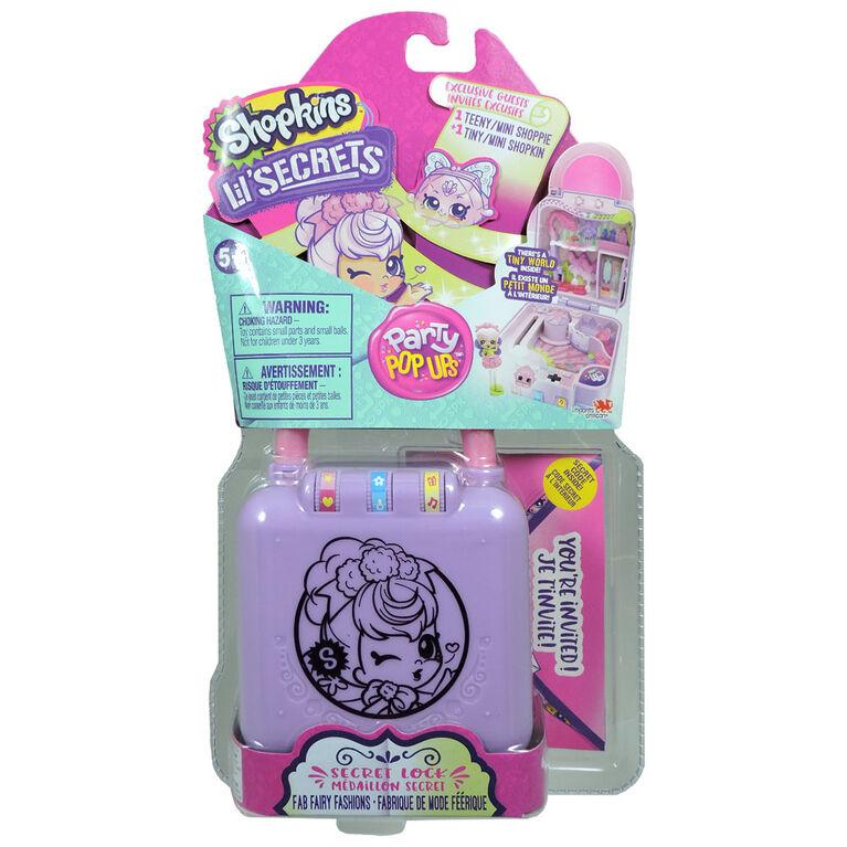 Shopkins Lil' Secrets Playset - Fabrique de mode Féérique