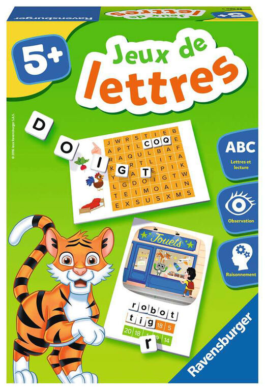 Ravensburger! Letter Games - French Edition