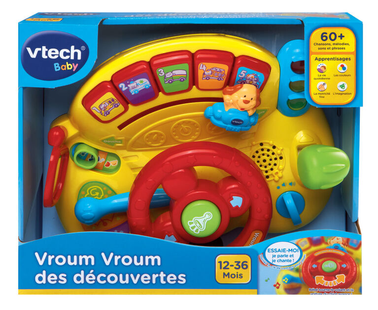 Turn & Learn Driver - French Edition
