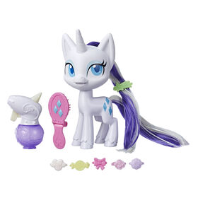 My Little Pony, Rarity Crinière magique, poney à coiffer de 16,5 cm - R Exclusif