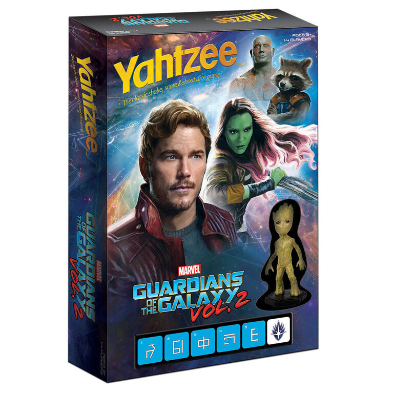 YAHTZEE: Guardians of the Galaxy Vol 2