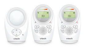 VTech DM1211-2 - 2 Parent Unit Enhanced Range Digital Audio Monitor