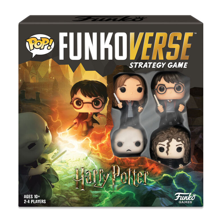 Funkoverse Strategy Game: Harry Potter 4-Figure Pack (2-4 Players) - English Edition
