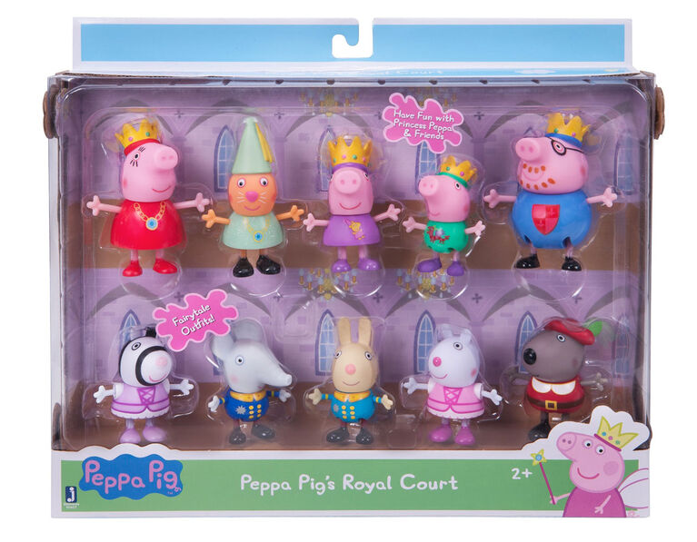 Peppa Pig Cour royale 10pc