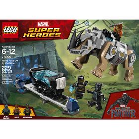 LEGO Super Heroes Rhino Face-Off by the Mine 76099