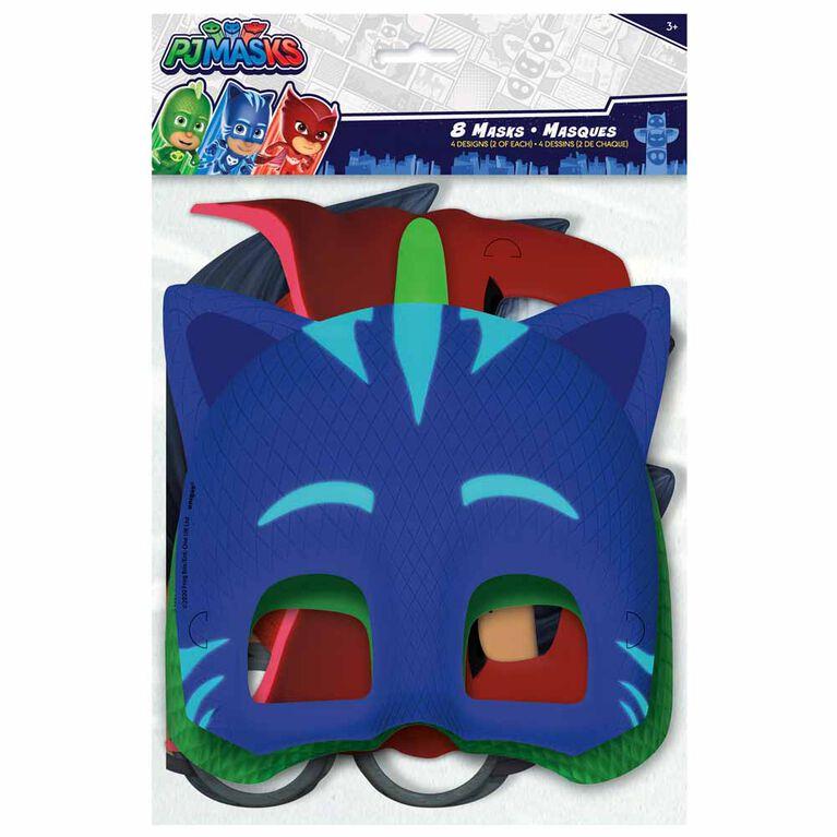 PJ Masks Masques, 8un