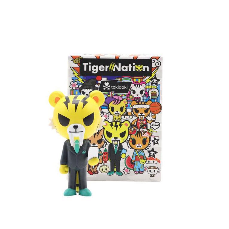 tokidoki Tiger Nation vinyle collectible