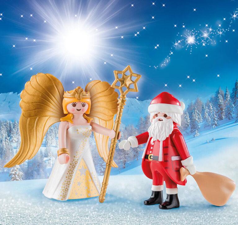 Playmobil - Santa and Christmas Angel