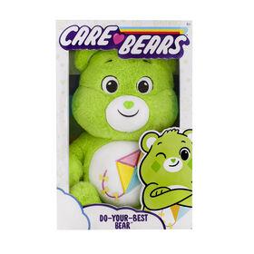 """Care Bears 14"""" Plush - Do-Your-Best Bear"""