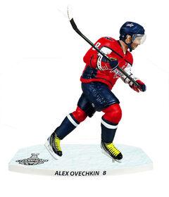 Alex Ovechkin - Capitals de Washington - Figurine de la LNH de 12 pouces.