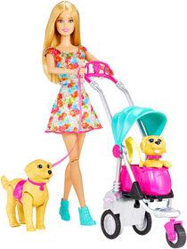 Barbie - Strollin Pups - R Exclusive