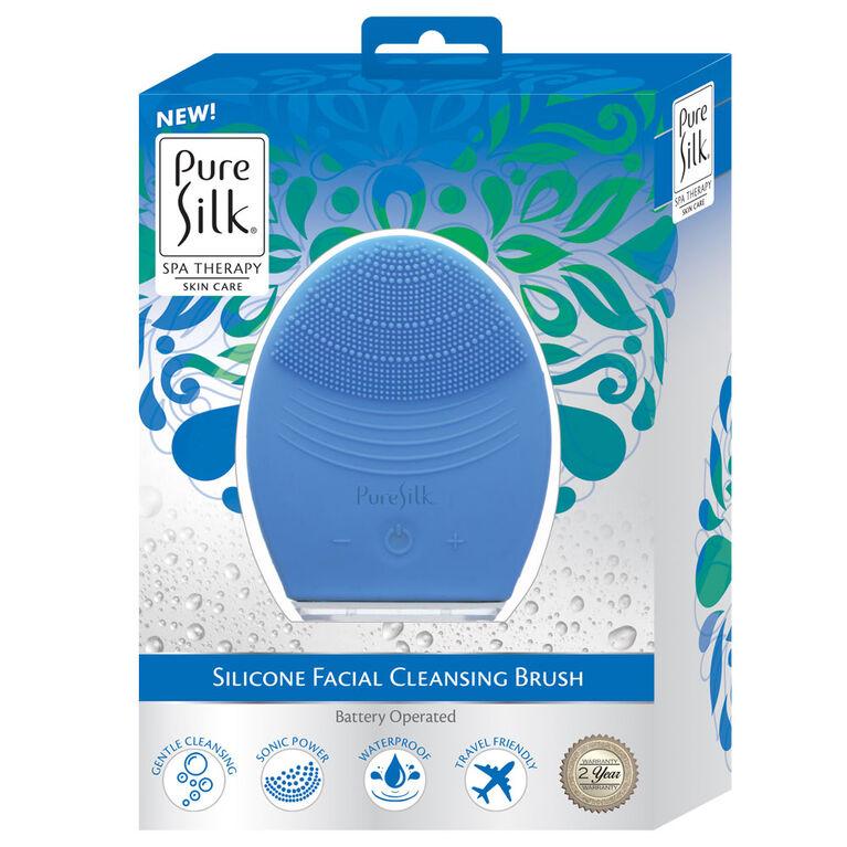 Pure Silk Facial Cleansing Vibration BrushPure Silk Facial Cleansing Vibration Brush