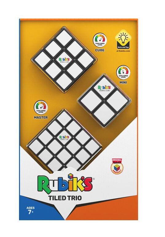 Ensemble-cadeau Trio de tuiles Rubik's Cube - Notre exclusivité