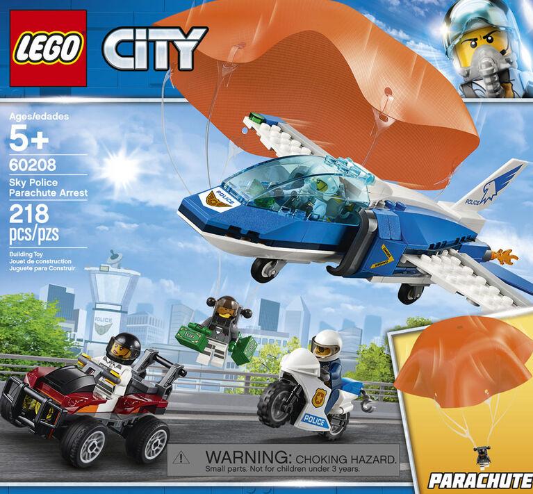 LEGO City L'arrestation en parachute 60208
