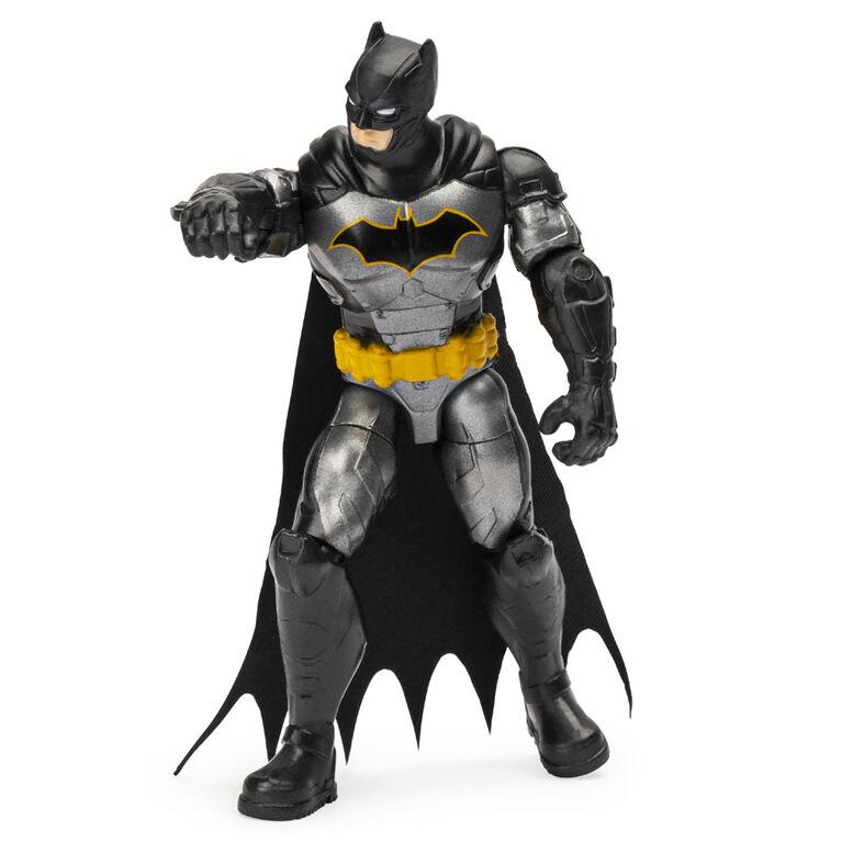 BATMAN, Figurine articulée BATMAN Renaissance tactique de 10cm avec 3accessoires mystère, Mission2