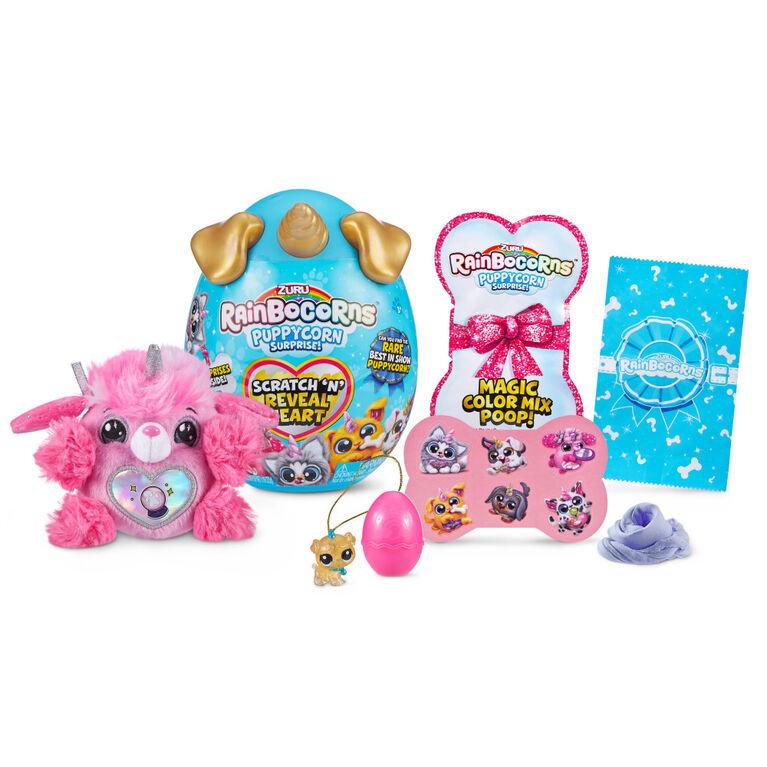 Rainbocorns Sparkle Heart Surprise Series 3 Puppycorns Surprise by ZURU