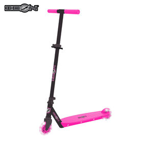 Icon Elite 100Mm Light Up Wheel Scooter - Pink