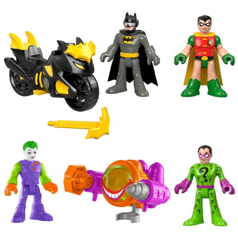 Fisher-Price - Imaginext - DC Super Friends - Coffret-cadeau Duos de combat