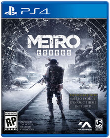 Metro Exodus Play Station 4