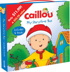 Caillou: My Storytime Box