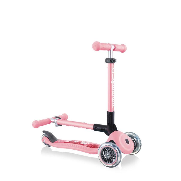Globber Junior Fantasy Scooter - Pastel Pink