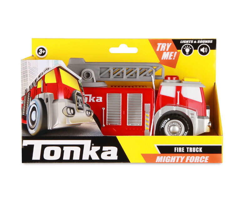 Tonka - Mighty Force Lumière et son - Camion Incendie
