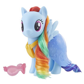 My Little Pony - Figurine Rainbow Dash à habiller