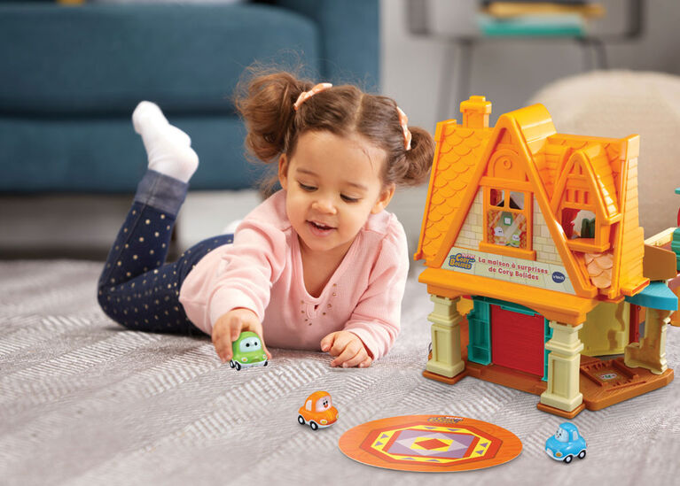 VTech Tut Tut Cory Bolides Cory's Stay & Play Home - French Version