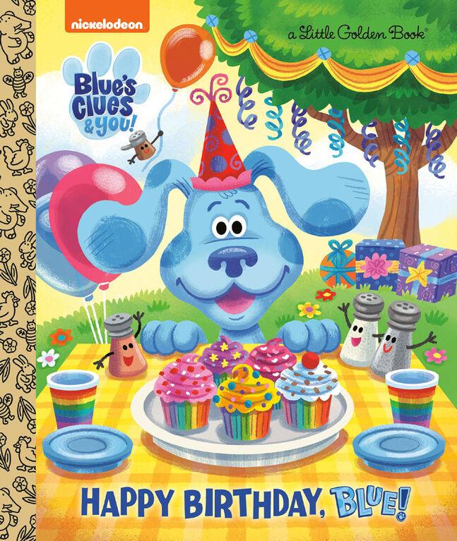 Happy Birthday, Blue! (Blue's Clues & You) - English Edition
