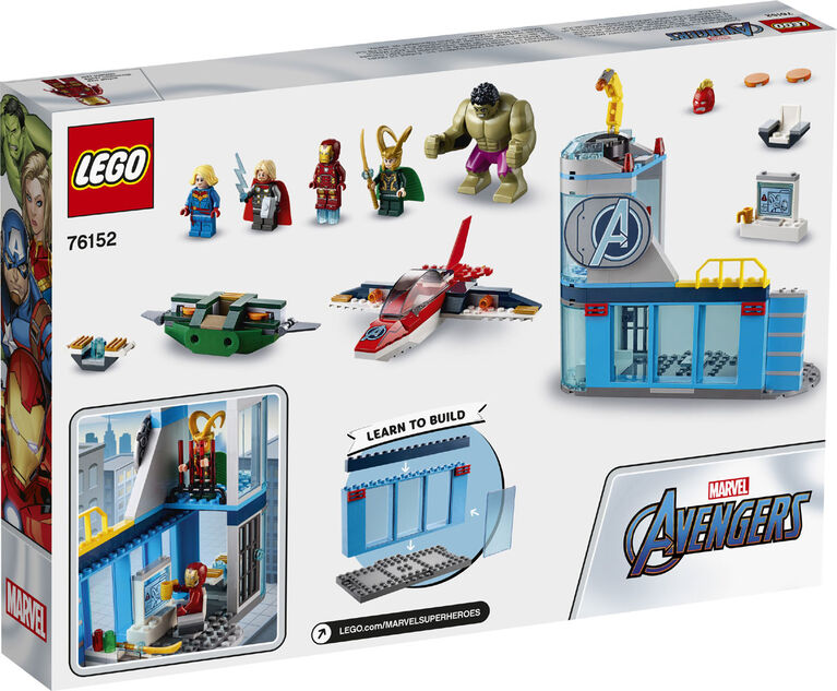 LEGO Super Heroes Avengers Wrath of Loki 76152