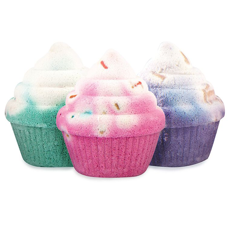 Fashion Angels - Fresh Vibes Cupcake Scented Bath Bomb Gift Set