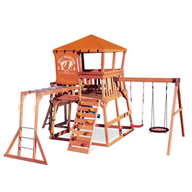 Real Wood Adventures Wolf Mountain Outdoor Playset Little Tikes - R Exclusive