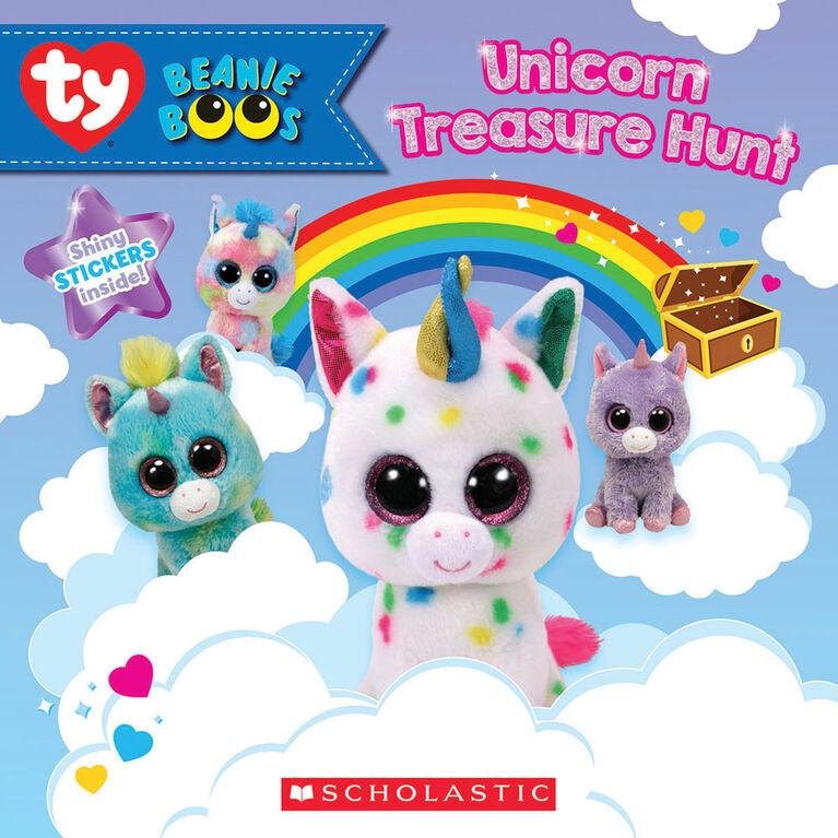 Scholastic - Beanie Boos: Unicorn Treasure Hunt - Édition anglaise