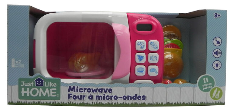 Just Like Home – Four à micro-ondes - Rose