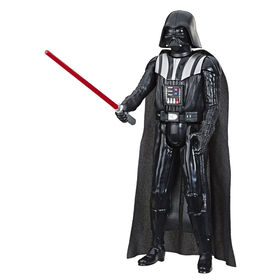 Star Wars Hero Series Darth Vader 12-inch Scale Action Figure with Lightsaber Accessory
