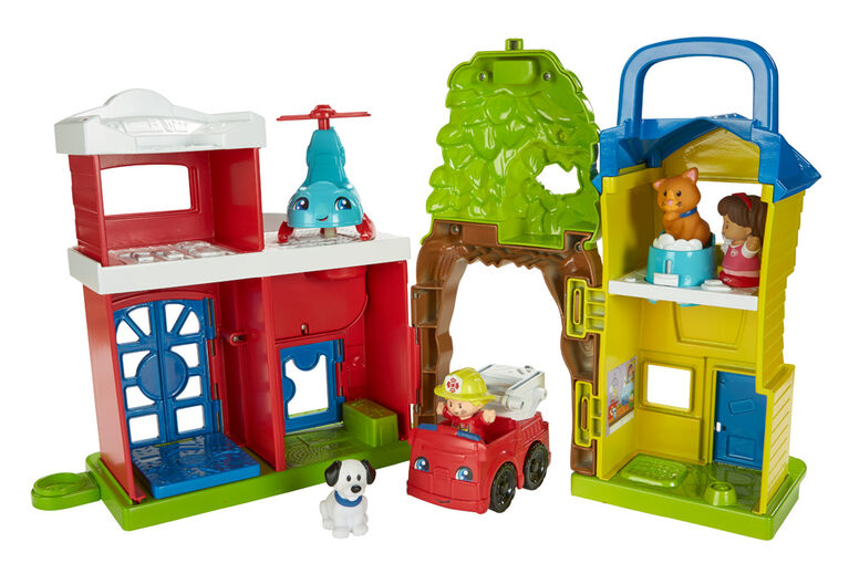 Fisher-Price Little People Animal Rescue - English Edition