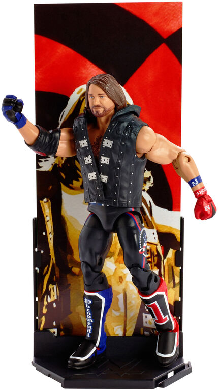 WWE Elite Collection AJ Styles Figure