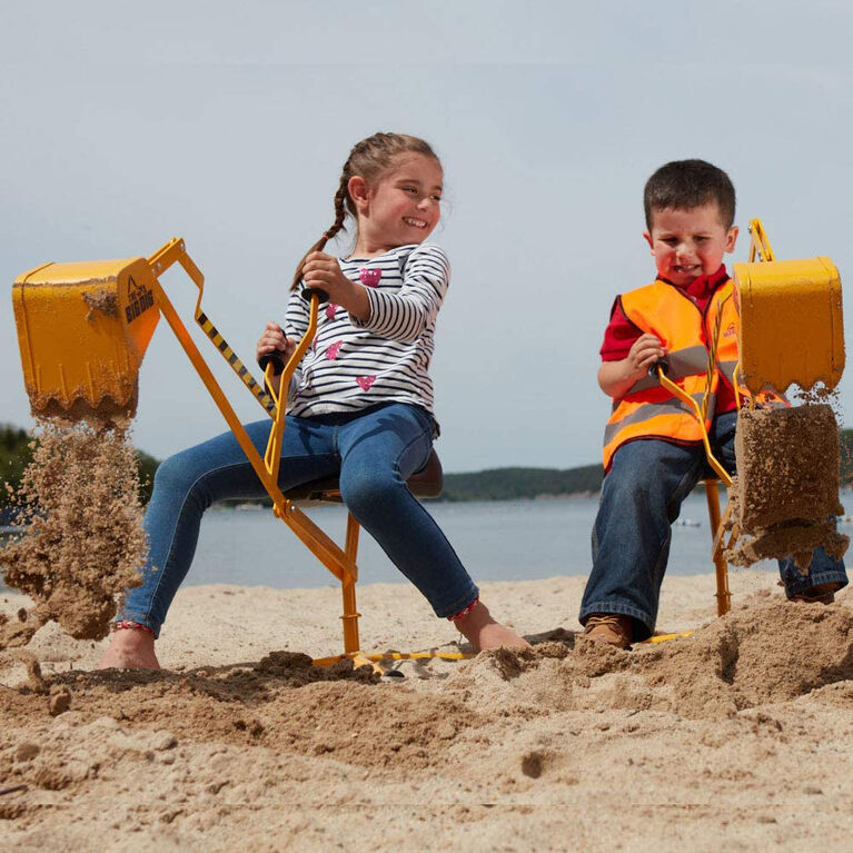 The Big Dig® Ride-On Sandbox Digger Toy Excavator