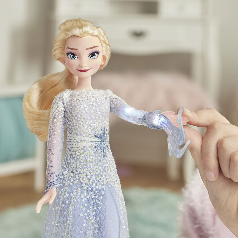 Frozen Magical  Elsa Doll with Lights and Sounds