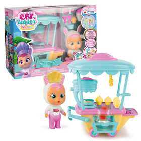 Cry Babies Magic Tears - Coney's Bakery Cart Playset