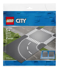 LEGO City Supplementary Virage et carrefour 60237