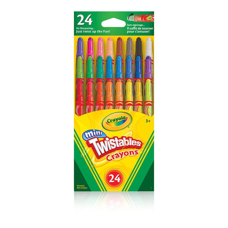 Crayola - 24 Mini Twistables Crayons