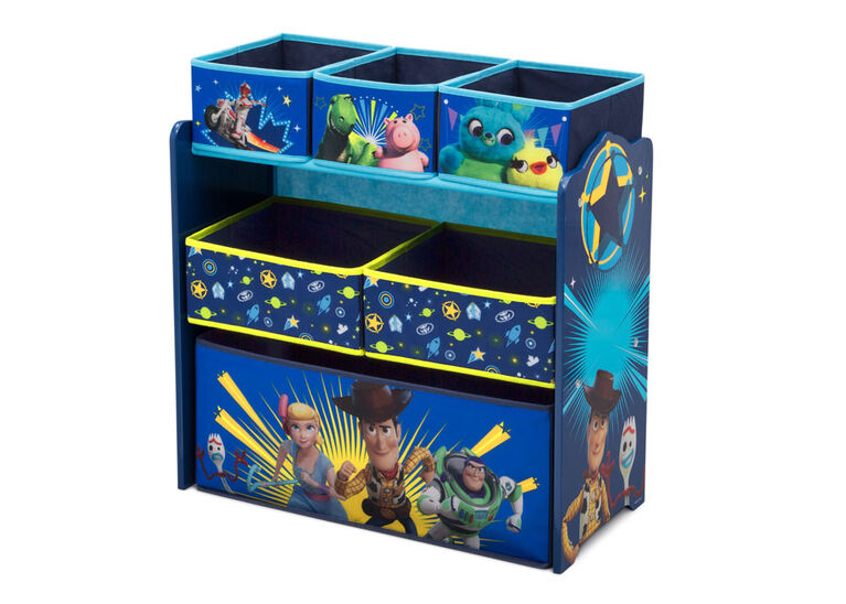 Disney/Pixar Toy Story 4 Design and Store 6-Bin Toy Organizer
