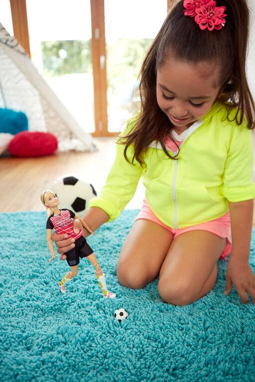 Barbie - Ultra Flexible - Joueuse de soccer