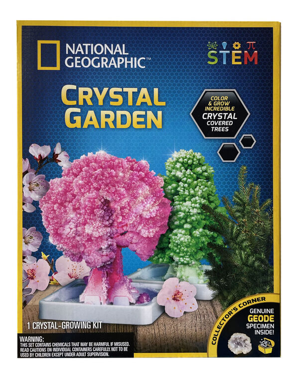 National Geographic - Jardin de cristaux