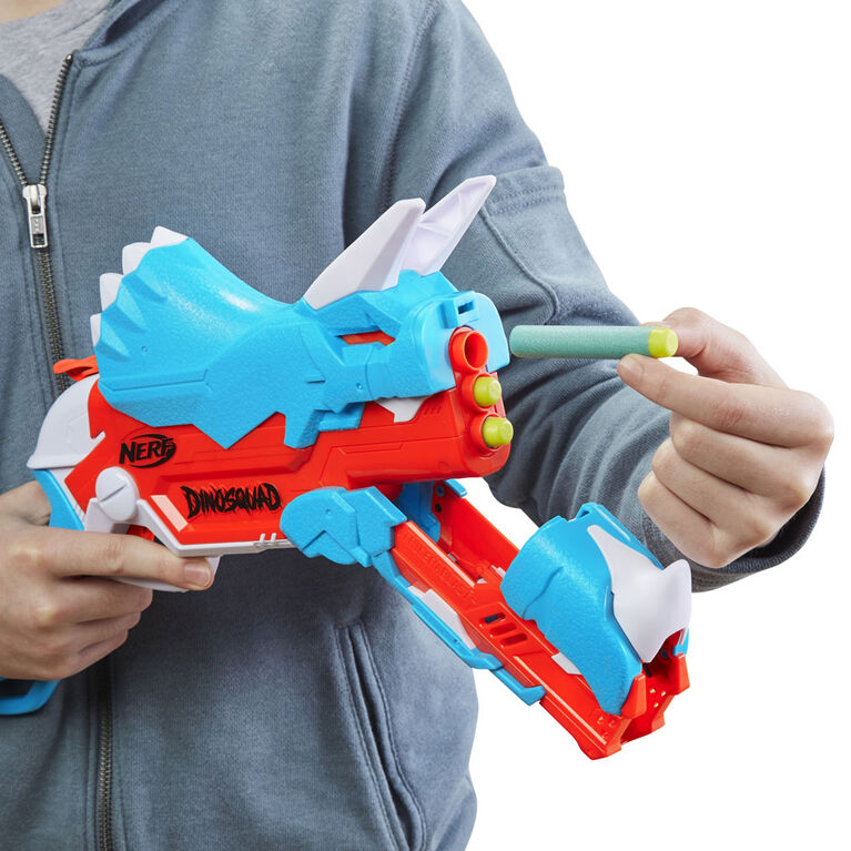 Nerf DinoSquad Tricera-blast Dart Blaster